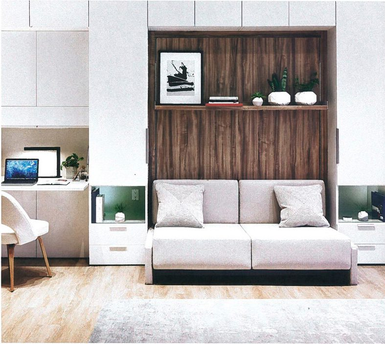 Smarter Living: 'A'al'i Living Room to Bedroom Conversion